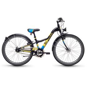 s'cool XXlite 24 7-S steel Black/Yellow Matt